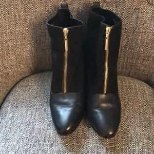 Kate Spade Saturday Black Ankle Boots